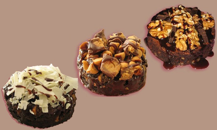 iKKSS Gourmet - Orange County: Brownie Sampler, Blondie Sampler, or 20Pc Chocolate Chip Cookie Bars from iKKSS Gourmet (Up to 50% Off)
