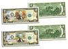 Pair of $2 Bills Honoring Grand Canyon and Yellowstone National Parks: Pair of $2 Bills Honoring Grand Canyon and Yellowstone National Parks