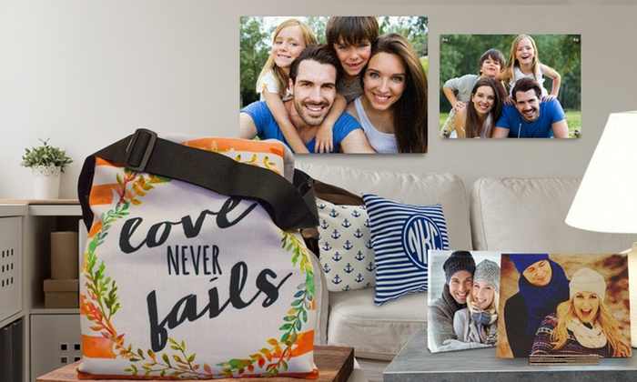Picture it on Canvas: Custom Gifts and Artwork from Picture It On Canvas (Up to 63% Off). Three Options Available.
