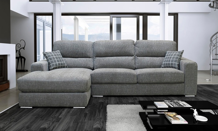 Pisa Corner Sofa Groupon Goods