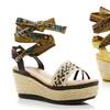 Happy-10 Wedge Sandals