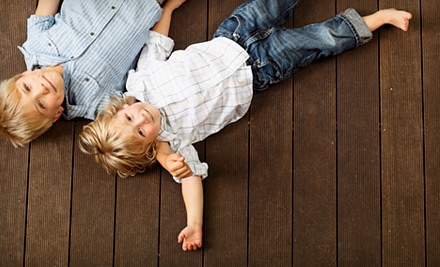 $99 Groupon for Power Washing and Deck Staining for Up to 100 Sq. Ft. - M & C Handyman Service in