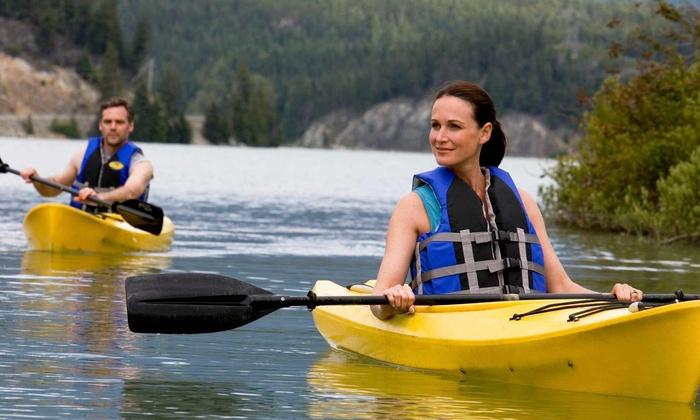 Savannah Rapids Kayak Rental - Augusta: Single- or Tandem-Kayak Rental from Savannah Rapids Kayak Rental (50% Off)