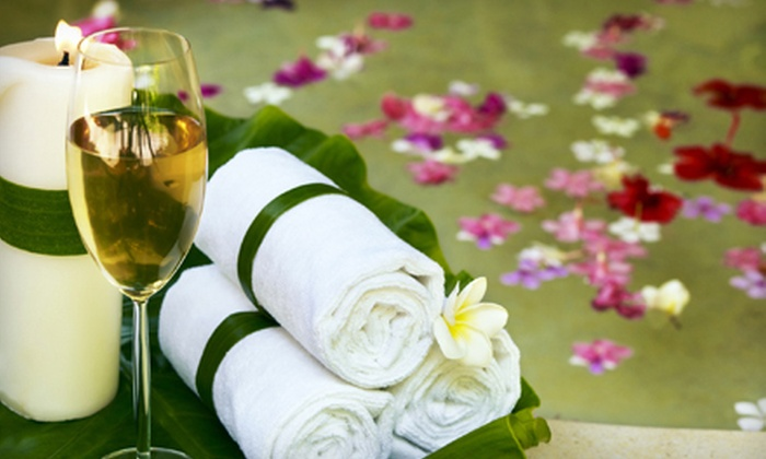Vino + Therapy Studio - Atascadero: Wine-Therapy Spa Package with Facial or Massage and Wine for One or Two at Vino + Therapy Studio (Up to 72% Off)