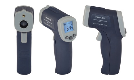 Measupro Non-Contact Infrared Thermometer with Laser Targeting