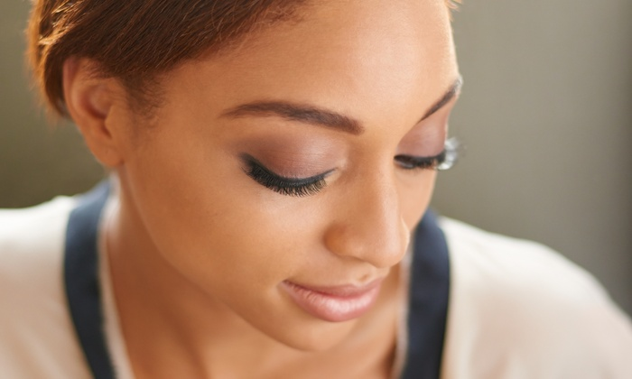 Spoiled Lashes Studio Beautique - Jackson: Full Set of Mink Eyelash Extensions with Optional 2-Week Fill at Spoiled Lashes Studio Beautique (Up to 70% Off)