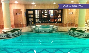 Health Aroma: Spa Day With Body Wrap and Bubbly for One or Two at Health Aroma (Up to 50% Off)