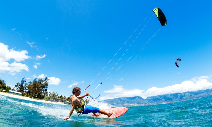 Kite Force Academy - Kansas City: One-Hour or Three-Hour Stage 1 Introductory Kiteboarding Lesson from Kite Force Academy (Up to 67% Off)