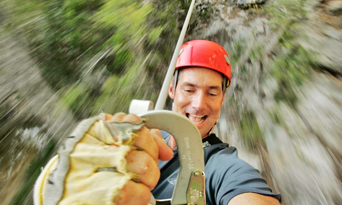 Cypress Valley Canopy Tours - Southwest Travis: Zipline Canopy Tour Package for One or Two from Cypress Valley Canopy Tours (Up to 38% Off)