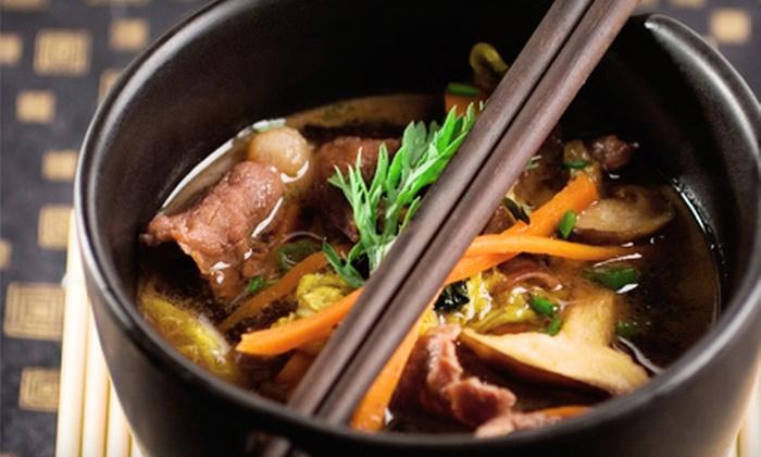 Zen Bistro & Wine Bar - Aurora Highlands: Pan-Asian Cuisine for Lunch or Dinner at Zen Bistro & Wine Bar (Half Off)