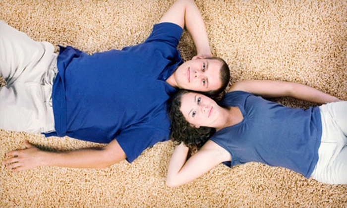 The Burns Clean Team - Lexington: $49 for Green Clean Carpet Cleaning for Three Rooms from The Burns Clean Team ($197 Value)