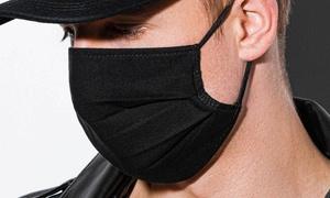 2 masques coton avec élastiques