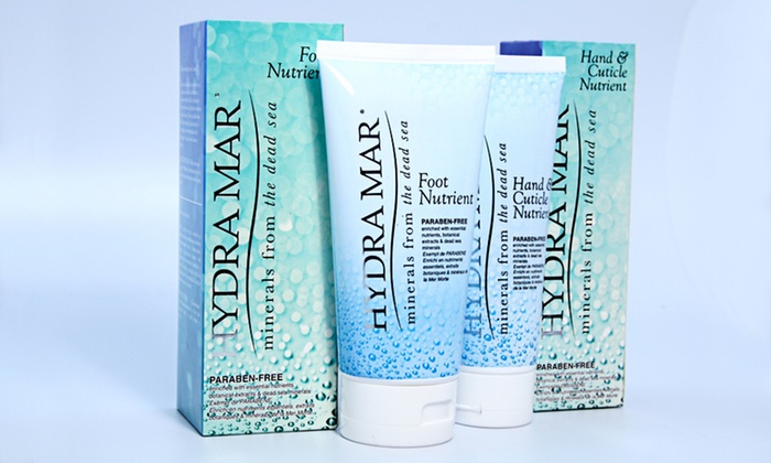 Hydra Mar Hand and Foot Pampering Set: $24.99 for a Hydra Mar Hand and Foot Pampering Set with Dead Sea Minerals ($59.98 List Price). Free Shipping.