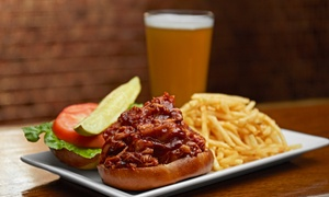 Kaskaskia Brewing Company: Pub Food and Drinks for Two or Four at Kaskaskia Brewing Company (Up to 45% Off)