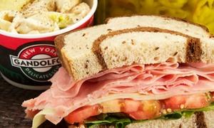 Gandolfo's New York Deli: Deli Food at Gandolfo's New York Deli (Up to 53% Off). Two Options Available.