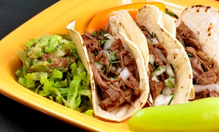 Two or Three Groupons, Each Good for $10 Worth of Mexican Food at Ceja's Mexican Diner & Grill (40% Off)