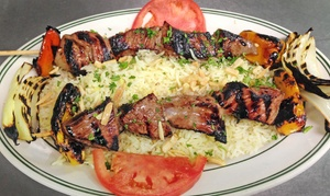 Ceedo's Eatery - Fine Mediterranean & American Cuisine: $19 for Lunch or Dinner for Two at Ceedo's Eatery (Up to $33.85 Value)