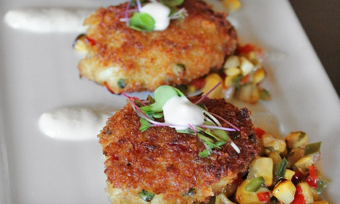 Bomboras Grille - Hilton Head Island: $25 for Four-Course Low-Country Tasting Menu with Drinks for Two at Bomboras Grille ($50 Value)