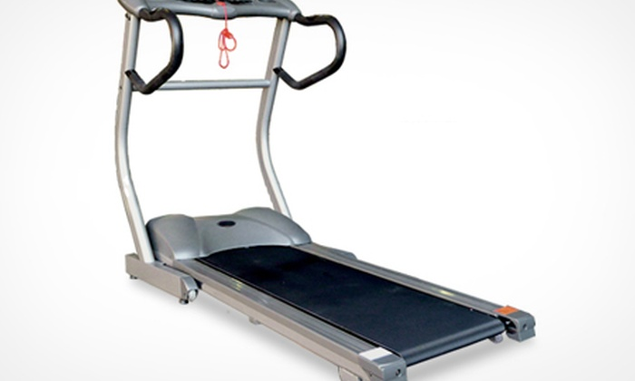 Groupon Goods Global GmbH: B-Train Motorised Treadmill (£289.99) With Incline (£349.98) With Free Delivery (Up to 64% Off)