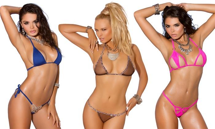 swimsuits Itty-bitty bikinis n