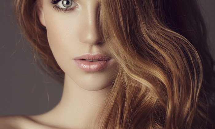 Anthony Robert Salon - Verona: Haircut with Conditioning Treatment or H2O Water Therapy with Blowout at Anthony Robert Salon (Up to 64% Off)