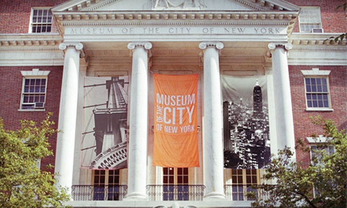 Museum of the City of New York - East Harlem: Visit for Two or Four to the Museum of the City of New York (Up to 55% Off)