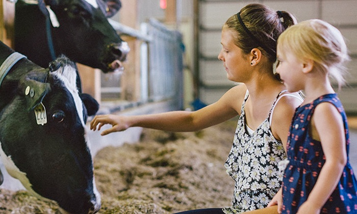EcoDairy in partnership with Science World - Abbotsford: Admission for 2, 4, or 8 or Field Trip for Up to 25, 50, or 100 at EcoDairy (Up to 62% Off)