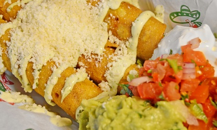 Mexican Food and Drinks at Pecado Bueno (Up to 40% Off). Two Options Available.
