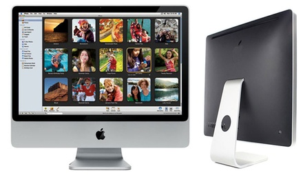 Apple iMac 24'' reacondicionado con procesador Core 2 Duo de 2,66GHz, 320GB de disco duro y 4GB RAM (envío gratuito)