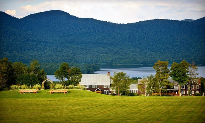 The Mountain Top Inn & Resort - Green Mountains, VT: $129 for a One-Night Stay at The Mountain Top Inn & Resort in Chittenden, VT (Up to $245 Value)