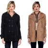 Women's Double Breasted Peacoat