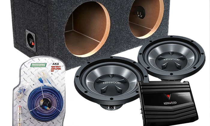 TF Supreme Sounds - Palmer: Kenwood Sealed or Vented Car Subwoofer Sound System and Installation at TF Supreme Sounds (Up to 32% Off)