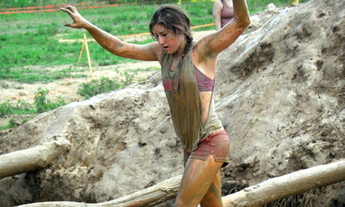Mud Ninja - Paint: One or Two Adult Mud-Race Entries or One Children's Entry from Mud Ninja on Sunday, July 28 (Up to 65% Off)