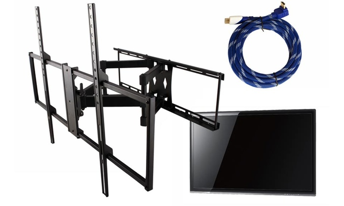 Full-Motion TV Wall Mount for 46–65 In. Displays and HDMI Cable: Full-Motion TV Wall Mount for 46–65 In. Displays and HDMI Cable. Free Shipping and Returns.