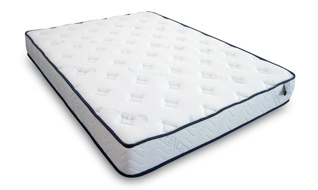 lit coffre prima avec sans matelas sleepflex groupon. Black Bedroom Furniture Sets. Home Design Ideas
