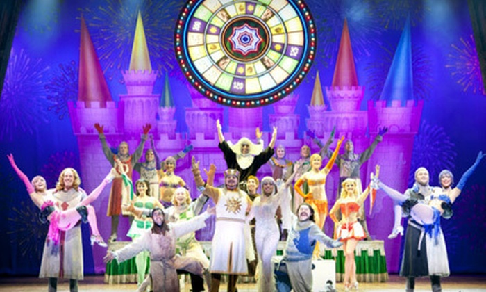 """""""Monty Python's Spamalot"""" - Comerica Theatre: $29 to See Monty Python's """"Spamalot"""" at Comerica Theatre on April 4 at 8 p.m. (Up to $58 Value)"""