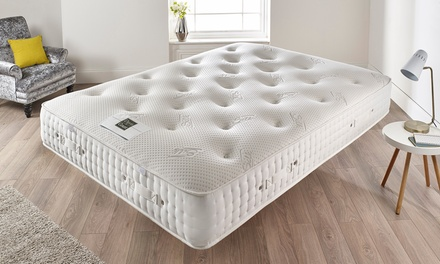Wool-Filled Natural Dual Comfort Mattress