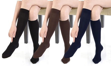 Women's Gradual Compression Socks (2-Pack)