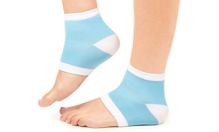 One Pair of Moisturizing Silky Socks with Callus-Removing Gel