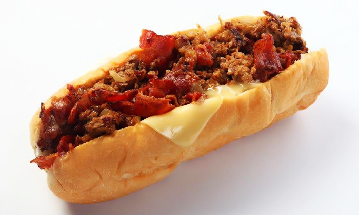 Cheese Steak Shop - Chino Hills: Cheesesteaks and Hoagies at Cheese Steak Shop (40% Off). Two Options Available.