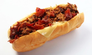 Cheese Steak Shop: Cheesesteaks and Hoagies at Cheese Steak Shop (40% Off). Two Options Available.