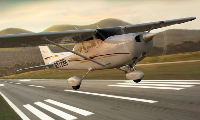 WNC Aviation - Fletcher: $65 for a 30-Minute Airplane Discovery Flight from WNC Aviation in Fletcher ($129 Value)