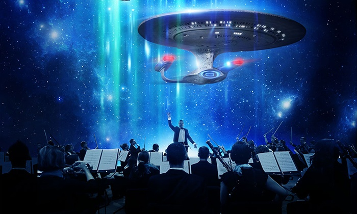 Star Trek: The Ultimate Voyage – 50th Anniversary Concert Tour - Murat Theatre at Old National Centre: Star Trek: The Ultimate Voyage on Friday, March 18 at 8 p.m.