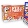 Children's Richard Scarry Fire Truck 8-Book Box Set