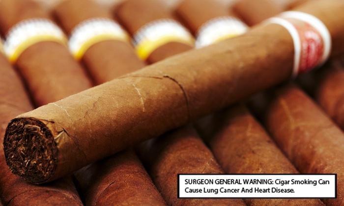 Union Cigar Company - Monroe: Five Premium Cigars or $10 for $20 Worth of Cigars at Union Cigar Company