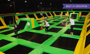 Up to 50% Off at Max Air Trampoline Park at Max Air Trampoline Park, plus 9.0% Cash Back from Ebates.