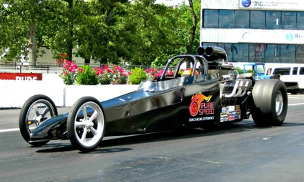 Dragster or Camaro Experiences from Pure Speed Drag Racing Experience (Up to 60% Off). Five Options Available.