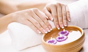 DAZALE BEAUTE: Beauté des mains ou/et des pieds spa avec pose de vernis semi-permanent dès 19,90 € chez Dazale Beauté