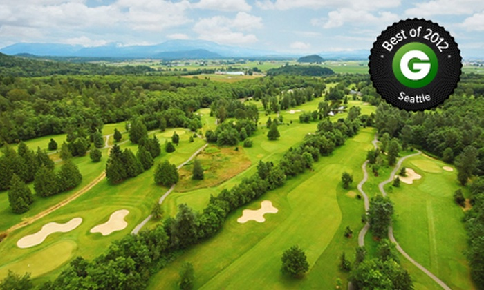 Avalon Golf Links - Burlington: 18-Hole Golf Outing with Cart and Range Balls for One, Two, or Four at Avalon Golf Links in Burlington (Up to 54% Off)