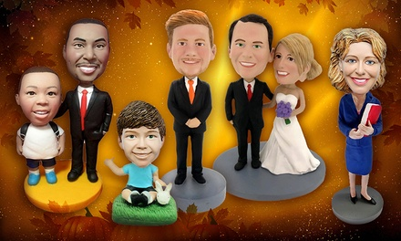Individual or Couple Custom Bobbleheads from BigBobble for $48.99–$119.99
